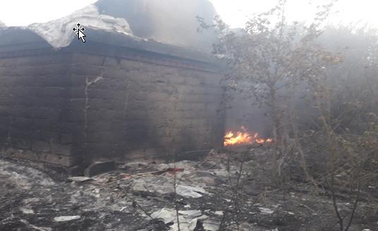Пожарно-спасательные подразделения МЧС России локализовали пожар в городе Салават