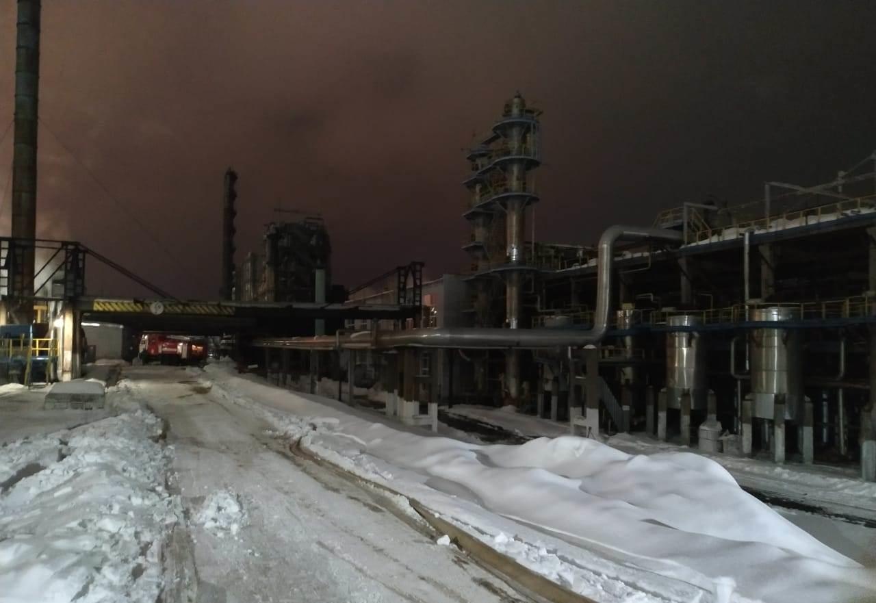 Пожарно-спасательные подразделения МЧС России выехали на пожар в Орджоникидзевский район города Уфы