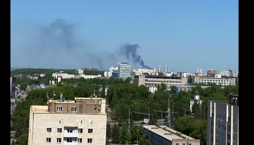 Чрезмерное выделение густого дыма с  ТЭЦ-3 по улице Бирский тракт в г. Уфе