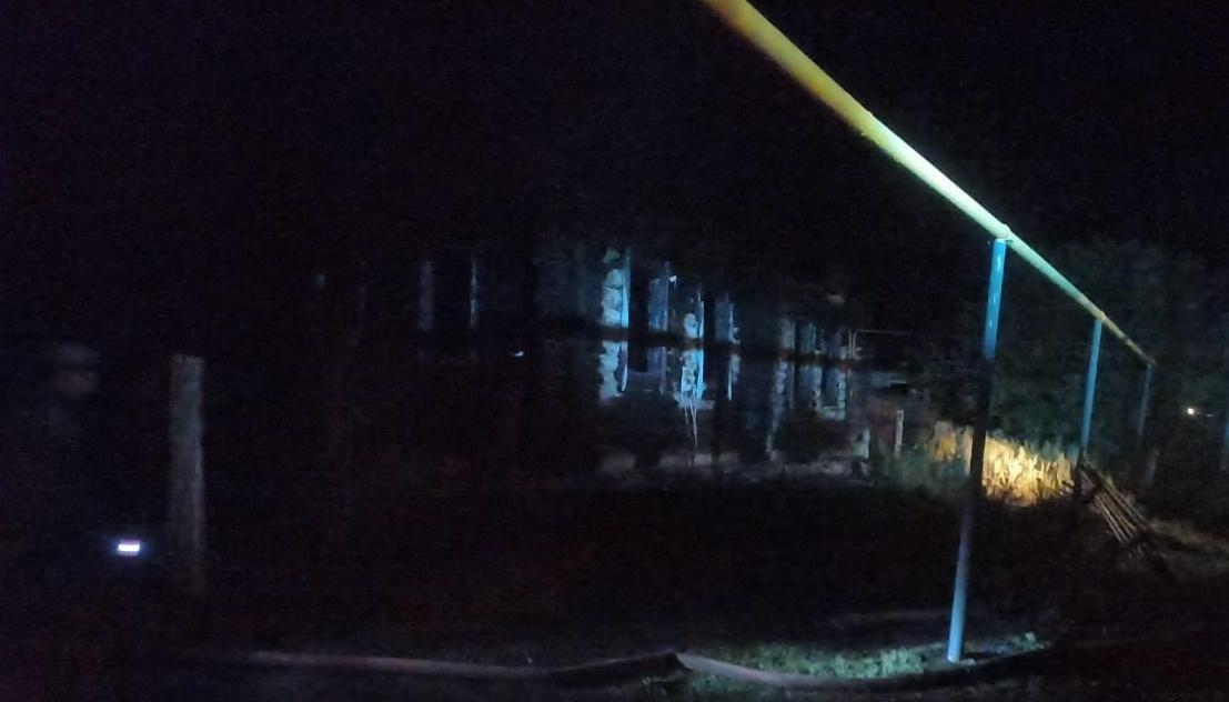 Пожарно-спасательные подразделения МЧС России выехали на пожар в Баймакском районе