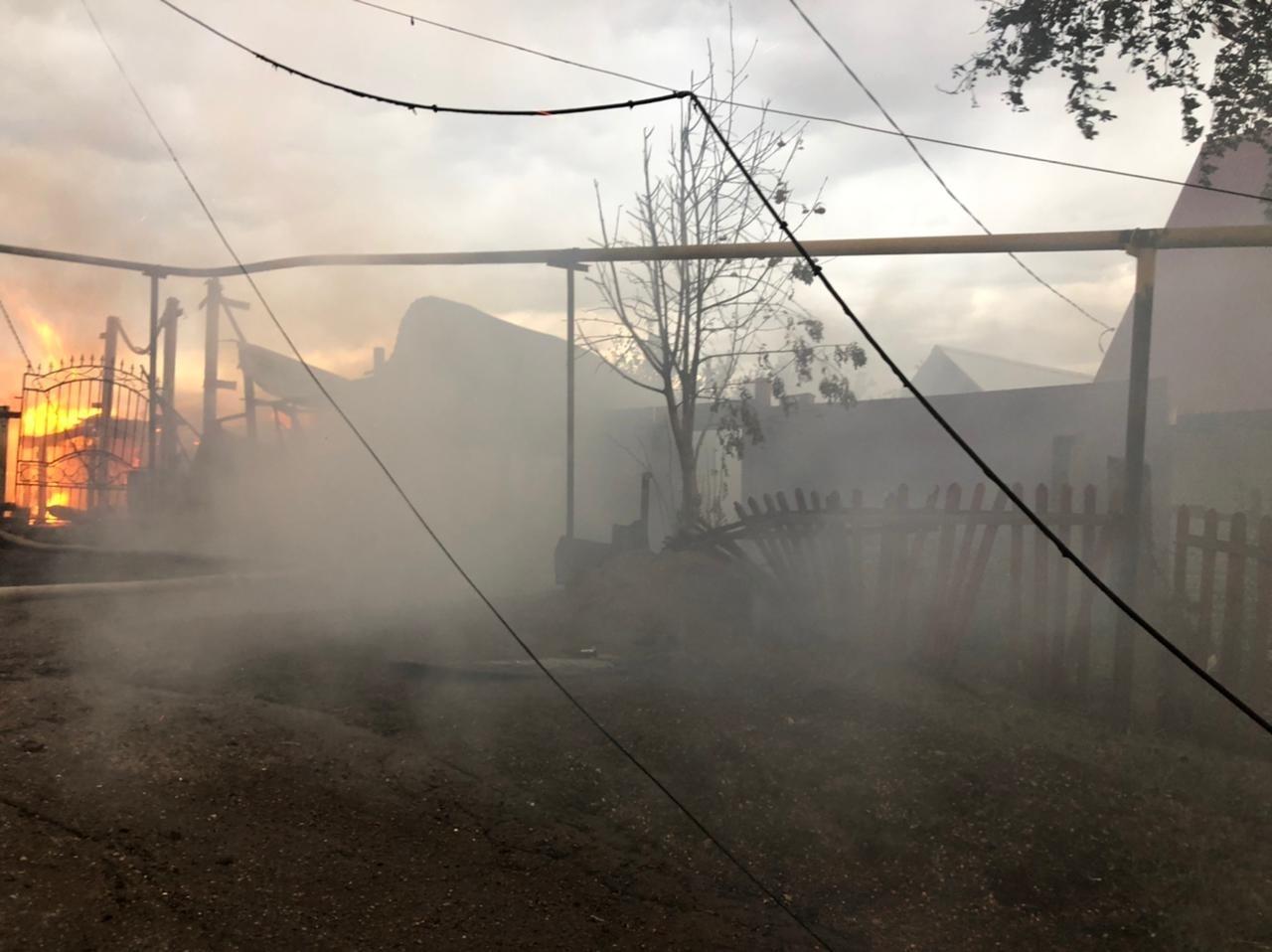 Пожарно-спасательные подразделения выехали на пожар в городе Бирск